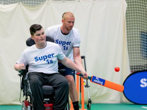 The ECB is teaming up with the Lord's Taverners to deliver new investment in disability cricket (Lord's Taverners/PA)