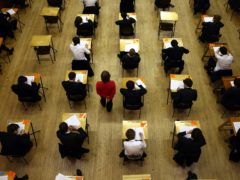 Exams in Scotland were cancelled due to the Covid-19 pandemic (David Jones/PA)