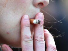 The charity wants a ban on smoking outside school gates (Sean Dempsey/PA)