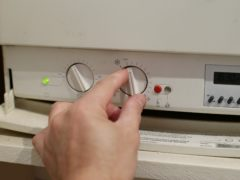 Millions of UK homes are heated through gas boilers (Yui Mok/PA)