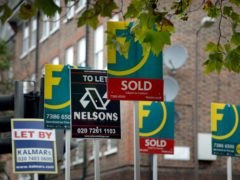 Net mortgage borrowing reached a record £11.8 billion in March, according to the Bank of England (Anthony Devlin/PA)