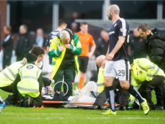 James McPake has thanked Dundee for the support they gave him after the horror injury which ended his career (Jeff Holmes/PA)