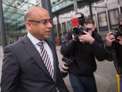 Sanjeev Gupta's business empire is facing an investigation by the Serious Fraud Office (Stefan Rousseau/PA)