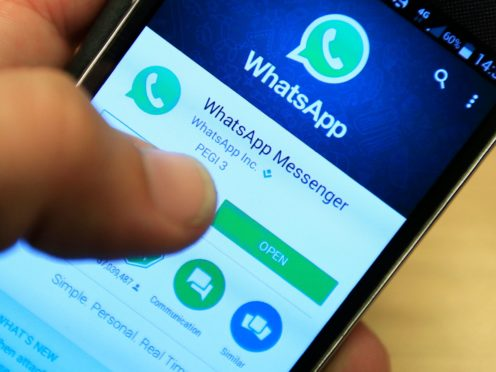 Rail passengers will soon be able to use WhatsApp and Facebook Messenger to receive details of transport options for completing journeys after travelling by train (Jonathan Brady/PA)