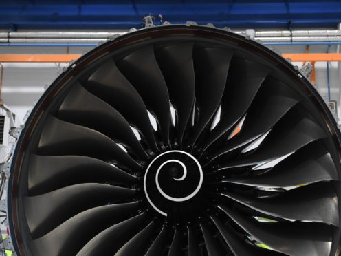 The engine-maker has been hurt by the drop in international travel (Paul Ellis/PA)
