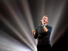 Coldplay's Chris Martin (Dominic Lipinski/PA)