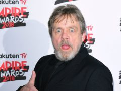 Luke Skywalker actor Mark Hamill (Ian West/PA)