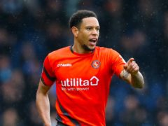 Nathan Tyson was Chesterfield's matchwinner at Halifax (Barrington Coombs/PA)