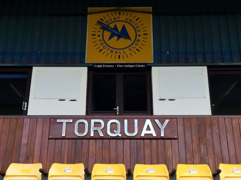 Torquay finished second in the table (Simon Galloway/PA)