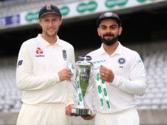 Englad captain Joe Root (left) and India captain Virat Kohli (Mike Egerton/PA)