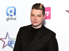 Eurovision Song Contest hopeful James Newman has revealed the advice chart-topping singer brother John (pictured) gave him ahead of the competition (Scott Garfitt/PA)