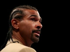 David Haye has backed Anthony Joshua to get the better of Tyson Fury (Bradley Collyer/PA)