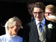 Ellie Goulding and Caspar Jopling (Peter Byrne/PA)