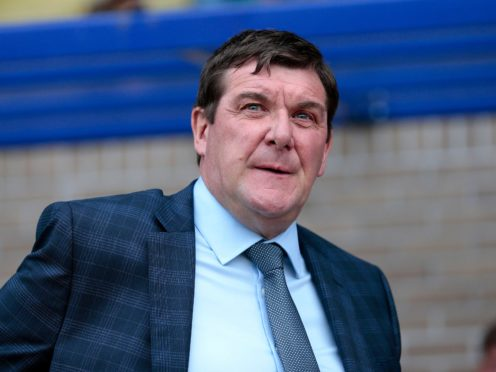 Tommy Wright is keeping calm (PA)