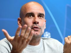Pep Guardiola accepts Manchester City will have to suffer to win the Champions League final (Martin Rickett/PA)