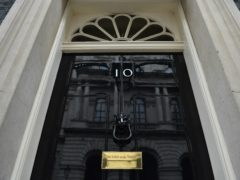 The front door of number 10 Downing Street (PA)