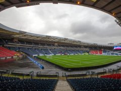 600 fans will be at Hampden (Jeff Holmes/PA)