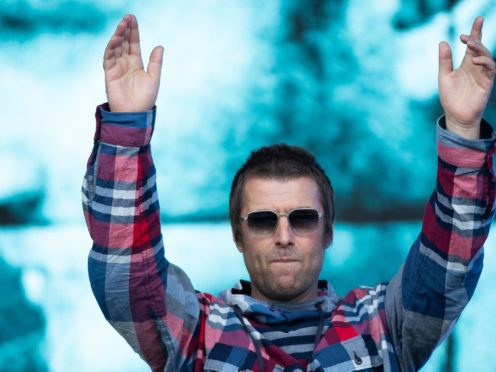 Liam Gallagher is hoping to be at the Champions League final (Aaron Chown/PA Media)