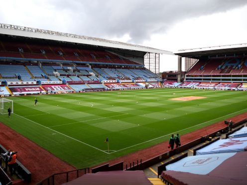 Villa Park is reportedly available to stage the Champions League final (Justin Tallis/PA)
