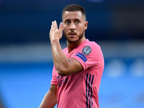 Eden Hazard, pictured, will be back on familiar ground when Real Madrid pitch up at Chelsea on Wednesday night (Peter Powell/PA)