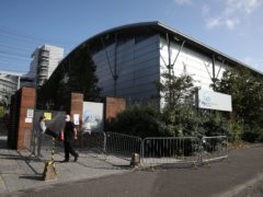 The attack targeted Glasgow Caledonian University (Andrew Milligan/PA)