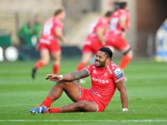 Manu Tuilagi has not played since damaging his achilles in September (Tim Goode/PA)