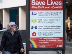 The Coronavirus alert level is set to drop (Jacob King/PA)