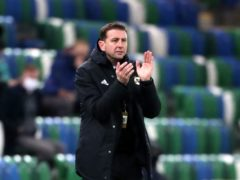 Northern Ireland manager Ian Baraclough is seeking the right blend of youth and experience (Niall Carson/PA)