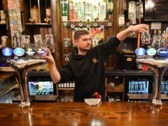 David Morgan, supervisor at The Borough pub in Cardiff (Ben Birchall/PA)
