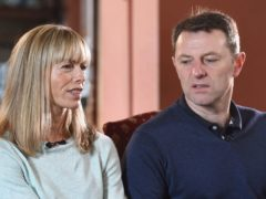 Kate and Gerry McCann have released a statement ahead of their missing daughter's 18th birthday (Joe Giddens/PA)
