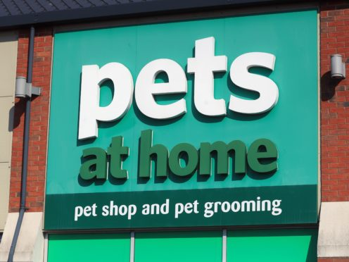 Pets at Home has been buoyed by the boom in pet ownership during the pandemic (Mike Egerton/PA)