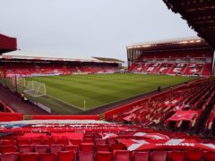 Aberdeen have offered their Pittodrie stadium as a possible Scottish Cup final venue (Jane Barlow/PA).