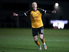 Veteran Newport striker Kevin Ellison is focusing on a Wembley final at the age of 42 (Nick Potts/PA)