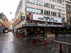 The Prince Charles Cinema has reopened (Dominic Lipinski/PA)