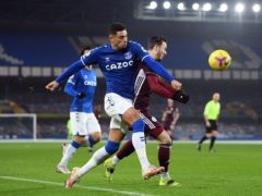 Ben Godfrey has been Everton's player of the season (Michael Regan/PA)