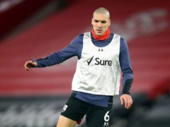 Southampton midfielder Oriol Romeu is back in training, having been sidelined since February (Michael Steele/PA)