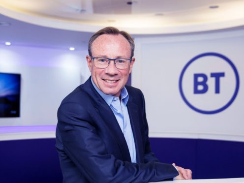BT chief executive Philip Jansen has invested more than £10m of his own money in BT shares since joining in 2018 (BT/PA)