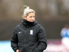 Birmingham Women manager Carla Ward has resigned from her role (Tim Markland/PA)