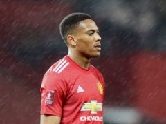 Anthony Martial could be in contention for Manchester United's final Premier League home game of the season against Fulham (Martin Rickett/PA)