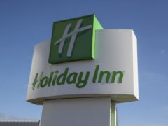 Holiday Inn owner Intercontinental Hotels has seen revenues continue to be subdued due to the coronavirus pandemic (Steve Parsons/PA)