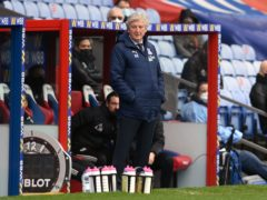 Roy Hodgson will leave Crystal Palace at the end of the season (Glyn Kirk/PA)
