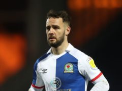 Adam Armstrong scored another hat-trick for Blackburn (Martin Rickett/PA)