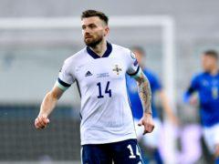 Stuart Dallas will captain Northern Ireland against Malta on Sunday (Alessio Marini/PA)