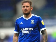 James Norwood opened the scoring for Ipswich (Adam Davy/PA)