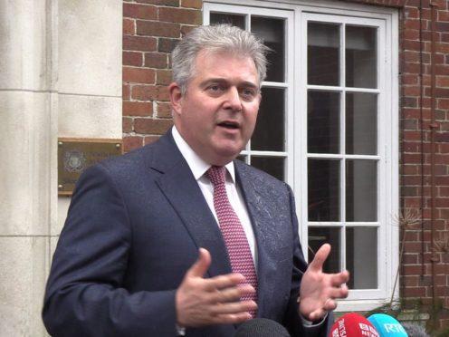 Northern Ireland Secretary Brandon Lewis (PA)