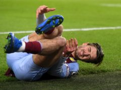Jack Grealish sustained a shin injury in February (Neil Hall/PA)