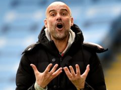 Pep Guardiola expects Manchester City to have to suffer as they bid to secure a place in the Champions League final (Rui Vieira/PA)