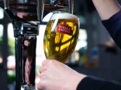 The boss of Stella Artois brewer AB InBev is to step down after 15 years (David Parry/PA)
