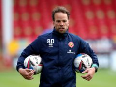 Brian Dutton has left Walsall (Nick Potts/PA)