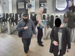 Usman Khan at Bank station (Metropolitan Police/PA)